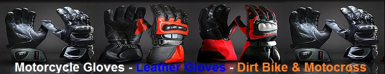 biker leather gloves