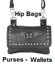 Harley hip bags purses