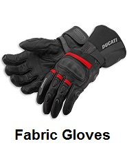 biker fabric gloves