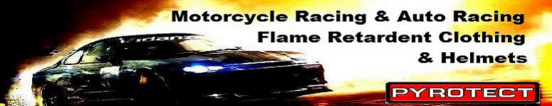 Flame Retardant Racing Helmets and Clothes