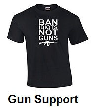 gun support t shirts
