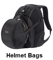 helmet bags backpacks