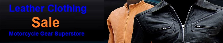 leather clothing sale
