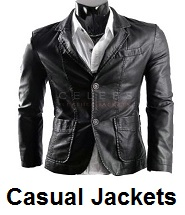 mens casual leather jackets