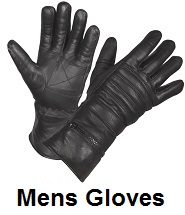 mens biker gloves