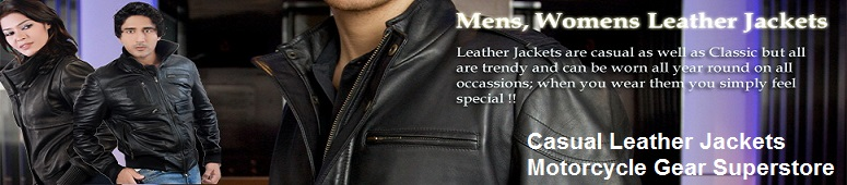 casual leather jackets