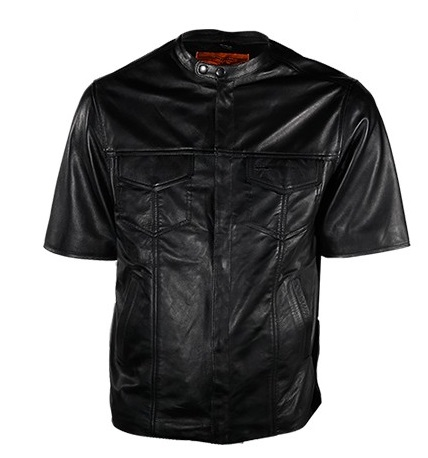 Find men leather sleeve shirt at ShopStyle. Shop the latest collection of men leather sleeve shirt from the most popular stores - all in one place.