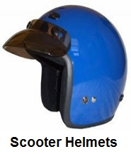 moped scooter helmets