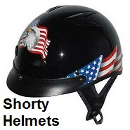 shorty helmets