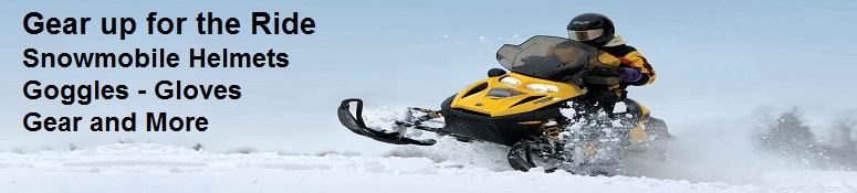 snowmobile helmets and gear
