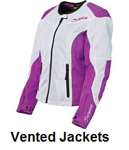 womens vented jackets