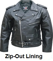 zip-out lining jackets