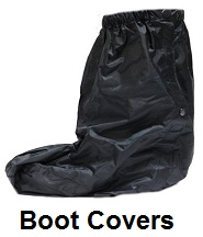 motorcycle boot rain covers
