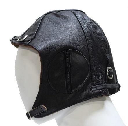 edb556e418ee33 Insulated Leather Aviator Cap