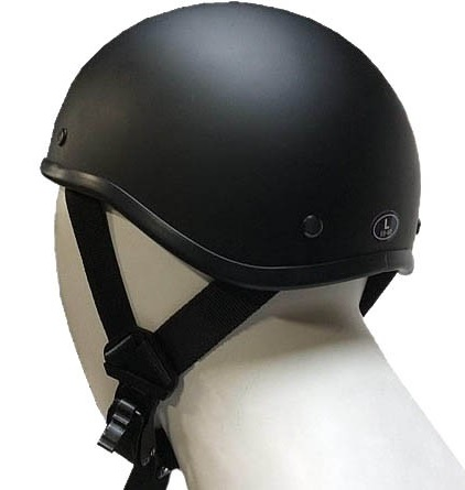 Snowmobile Helmets For Sale >> SOA Flat Black Novelty Beanie Motorcycle Helmet
