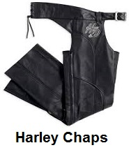 Harley Leather Motorcycle Chaps