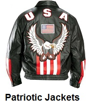 patriotic motorcycle jackets