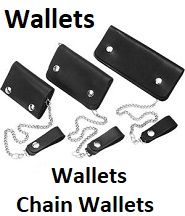 biker chain wallets