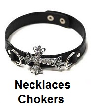 biker necklaces