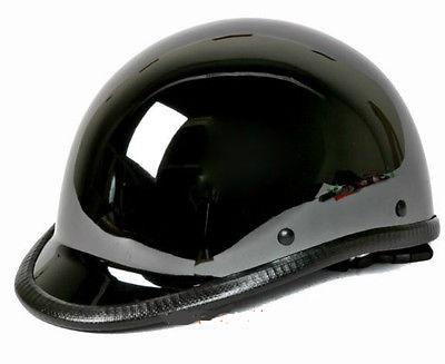 MOTORCYCLE RIDERS MENS SHINY CHROME JOCKEY HAWK NOVELTY HELMET GREAT PRICE
