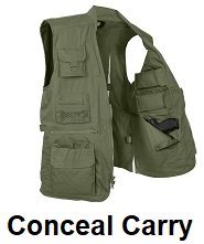 conceal carry vests