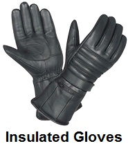 biker insulated gloves