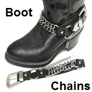 motorcycle boot chains