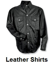 Leather Motorcycle Shirts