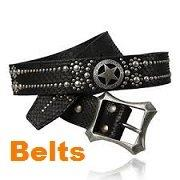 biker belts buckles