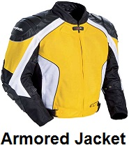 mens armored jackets