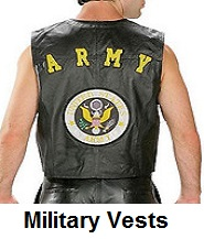 military motorcycle vests