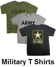 military t shirts