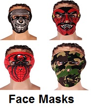motorcycle face masks