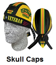motorcycle skull caps