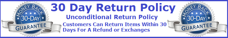 unconditional return policy