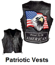patriotic motorcycle vests