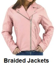 womens braided jackets