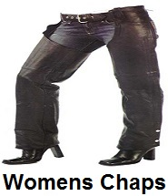 Women's Biker Motorcycle Chaps