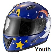 youth motorcycle helmets