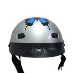 DOT Women's Vented Butterfly Motorcycle Half Helmet