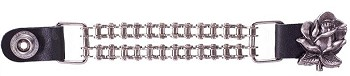 Rose Motorcycle Chain Vest Extenders Set of 4