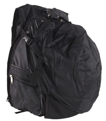 Motorcycle Helmet Backpack With Reflective Piping