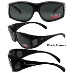 Fit Over Glasses Motorcycle Sunglasses