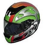 RZ-2 Green Blade Full Face Racing Helmet