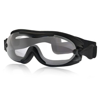 Fit Over Glasses Clear Motorcycle Goggles