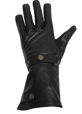 Long Summer Motorcycle Gloves With Wrist Straps