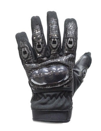 Gel Palm Motorcycle Racing Gloves with Hard Knuckle