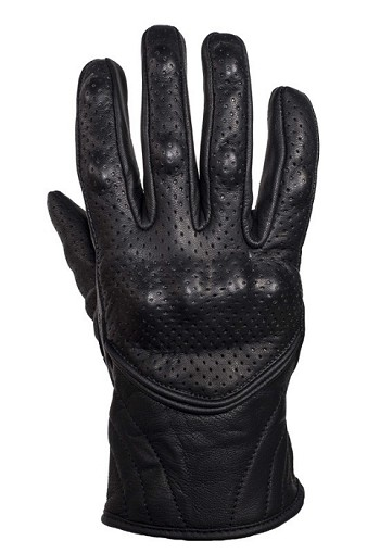 Perforated Hard Knuckle Motorcycle Gloves