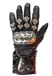 Motorcycle Racing Gloves with Metal Knuckle Protector