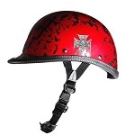 Jockey Boneyard Novelty Helmet with Chopper Cross